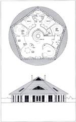 casa pentagonal