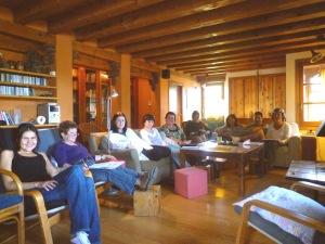 curs 08 sala-escuela en Pirineo